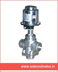 cylinder operated controls valves