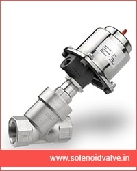 Tri Clover On-Off Type Pneumatic Angle Seat Valves