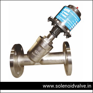 Pneumatic Y Type Valve Manufacturer & Supplier In India