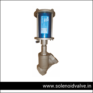 pneumatic angle seat valve supplier in india