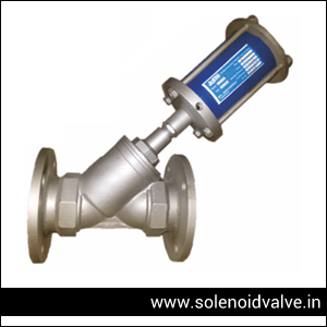Pneumatic Y Type Control Valve Exporter In India