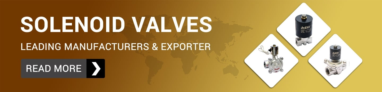 Solenoid valves Manufacturer & Supplier In India